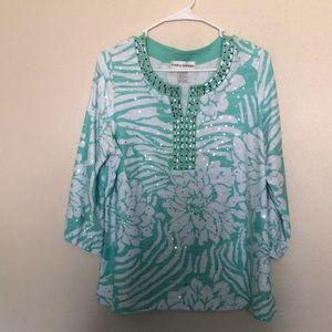 Cathy Daniels very beautiful light blouse